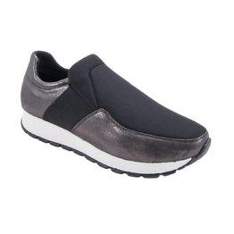 Γυναικεία ανατομικά δερμάτινα Sneakers Safe Step Κ07