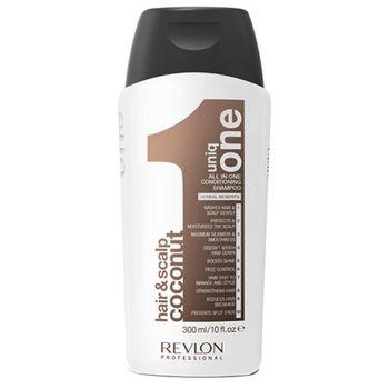 Uniq One – Revlon Uniq One All in One Conditioning Shampoo Coconut Edition 300ml