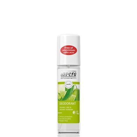 Lavera Αποσμητικό Spray Lime Sensation 75ml