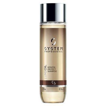 System Professional Fibra LuxeOil Keratin Protect Shampoo 250ml (L1)