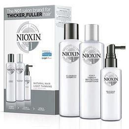 Nioxin KIT Σύστημα 1 (Σαμπουάν 150ml, Conditioner 150ml, Θεραπεία 50ml)