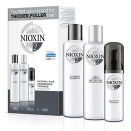 Nioxin KIT Σύστημα 2 (Σαμπουάν 150ml, Conditioner 150ml, Θεραπεία 40ml)