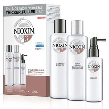 Nioxin KIT Σύστημα 3 (Σαμπουάν 150ml, Conditioner 150ml, Θεραπεία 50ml)