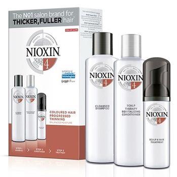 Nioxin KIT Σύστημα 4 (Σαμπουάν 150ml, Conditioner 150ml, Θεραπεία 40ml)