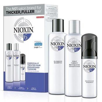 Nioxin KIT Σύστημα 6 (Σαμπουάν 150ml, Conditioner 150ml, Θεραπεία 40ml)