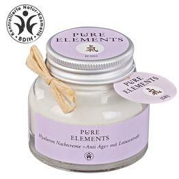 Pure Elements Αντιγηραντική Κρέμα Νύχτας με εκχύλισμα Λωτού 50ml