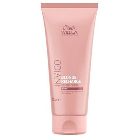 Wella Professionals Wella Invigo Blonde Recharge Warm Color Refreshing Conditioner 200ml