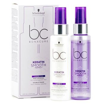 Schwarzkopf Professional Bc Bonacure Keratin Smooth Perfect Duo Layering