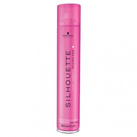 Schwarzkopf Professional Silhouette Color Brilliance Hairspray Super Hold 500ml