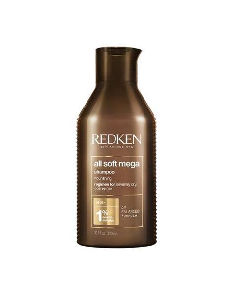 Redken New All Soft Mega Σαμπουάν Ενυδάτωσης Για Ξηρά Μαλλιά 300ml