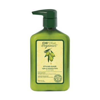 Chi Olive Organics Styling Glaze (light To Medium Hold – For All Hair Types) 340ml