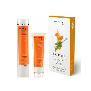 Medavita B-refibre Reconstructive Kit( Shampoo + Mask )