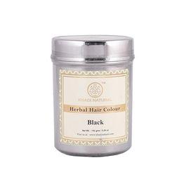 Khadi Natural Φυτική Βαφή Μαλλιών Black 150gr