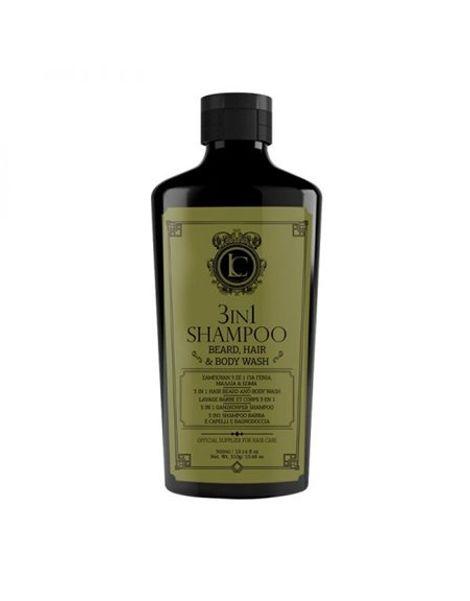 Lavish Care 3 in 1 Shampoo – Beard, Hair Body Wash 300ml