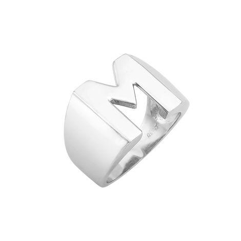 Δαχτυλίδι Chevalier M Λευκόχρυσος Κ14-06552MW