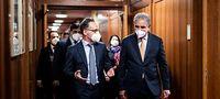 Außenminister Maas empfängt seinen pakistanischen Amtskollegen Qureshi in Berlin