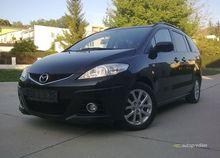 Mazda 5 2,0MZR-CD r.11/2010, 6-rýchlostná, 7-miestna, čierna