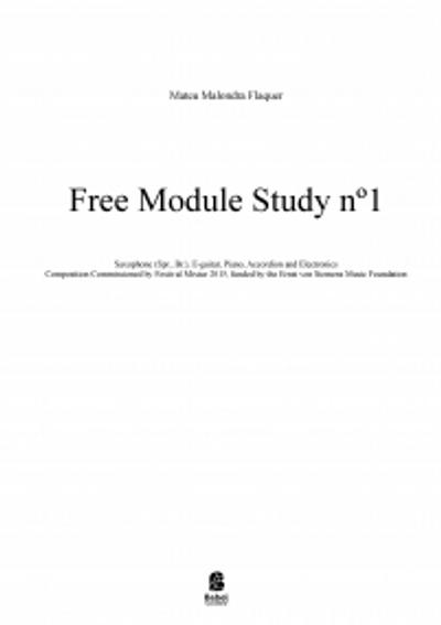 Free Module Study nº1