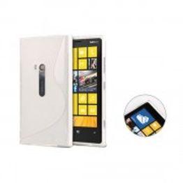 Advanced Accessories για Nokia Lumia 920 Λευκή Θήκη Gel S-Line(ΚΙΝ033)
