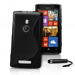 Advanced Accessories για Nokia LUMIA_925 Μαύρη Θήκη Gel S-Line(ΚΙΝ099)