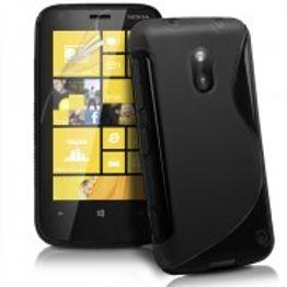 Advanced Accessories για Nokia Lumia 620 Μαύρη Θήκη Gel S-Line(ΚΙΝ167)