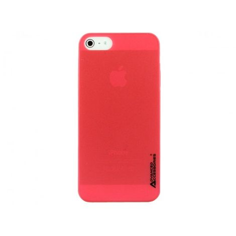 Advanced Accessories για Apple iPhone 5/5S Κόκκινη θήκη Ghost και Μεμβράνη Προστασίας Οθόνης (KIN201)