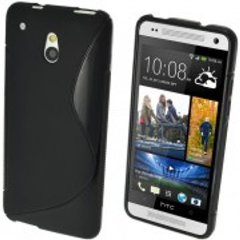 Advanced Accessories για Htc One Mini Μαύρη θήκη Gel S-Line(ΚΙΝ172)