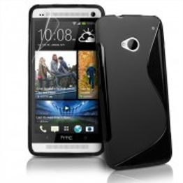 Advanced Accessories για Htc One Μαύρη θήκη Gel S-Line(ΚΙΝ166)
