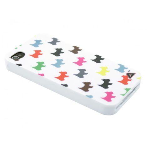 Advanced Accessories για Apple iPhone 4/4S Θήκη Jelli Puppy White και Μεμβράνη Προστασίας Οθόνης(ΚΙΝ288)