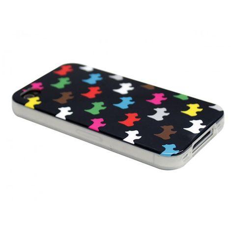 Advanced Accessories για Apple iPhone 4/4S Θήκη Jelli Puppy Μαύρη και Μεμβράνη Προστασίας Οθόνης(ΚΙΝ222)