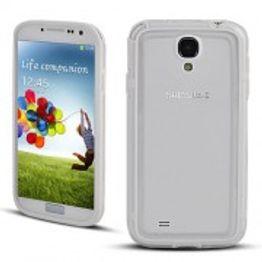 Advanced Accessories για Samsung Galaxy S4 Λευκή θήκη Bumper(ΚΙΝ069)