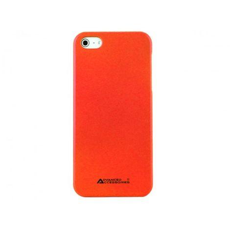 Advanced Accessories για Apple iPhone 5/5S SWANKY Hard Case Κόκκινη και Μεμβράνη Προστασίας Οθόνης(ΚΙΝ123)