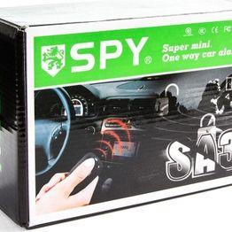 Σύστημα Συναγερμού Αυτοκινήτου SPY One Way – Σειρήνα, Κεντρικό Κλείδωμα & Αντικραδασμικό Με 2 Τηλεχειριστήρια – Car Alarm