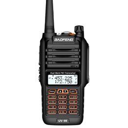 BaoFeng BF-UV9R 5W Dual Band Radio Handheld Antenna Walkie Talkie, EU Plug