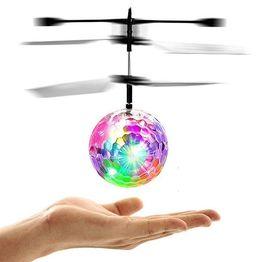 Heli Ball - Πολύχρωμη Φωτιζόμενη Ιπτάμενη Μπάλα