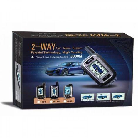 2 WAY CAR ALARM SYSTEM 3000M - ΣΥΣΤΗΜΑ ΣΥΝΑΓΕΡΜΟΥ ΑΥΤΟΚΙΝΗΤΟΥ ΜΕ ΣΕΙΡΗΝΑ