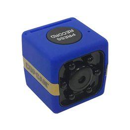 COP CAM Μίνι Ασύρματη Κάμερα Ασφαλείας HD με Νυχτερινή Λήψη μπλε
