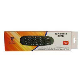 C120 Ασύρματο πληκτρολόγιο + Air Mouse + Χειριστήριο