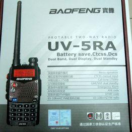 Baofeng UV-5RA Φορητός dual band πομποδέκτης VHF/UHF έως 5.8W