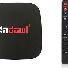 Android tv box lite 4K HD 7.1.2 smart tv wifi Andowl Q4 16GB