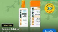 30% en crédit ticket E.Leclerc sur les produits solaire Soleilbiafine (retrait gratuit en mag)