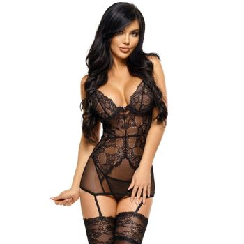 Sexy Babydoll & string Marion 747 – Beauty Night
