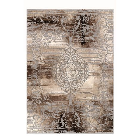 Μοντέρνο Χαλί VINTAGE 23336-957 Brown-Grey
