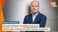Deutschland modernisieren – jetzt die Chancen der Krise nutzen