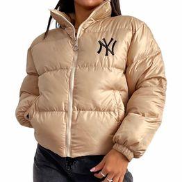 Bomber jacket ''NY'' (Μπεζ)