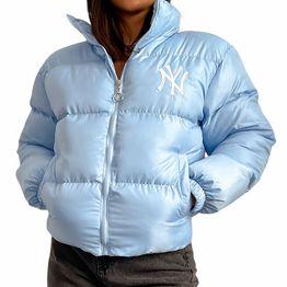 Bomber jacket ''NY'' (Γαλάζιο)