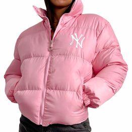 Bomber jacket ''NY'' (Ροζ)