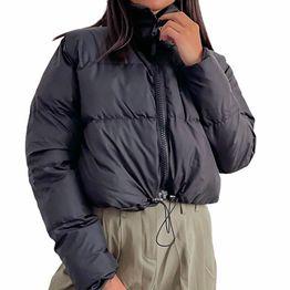 Bomber jacket κοντό (Μαύρο)