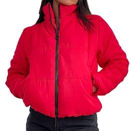Bomber jacket με τσέπες (Κόκκινο)
