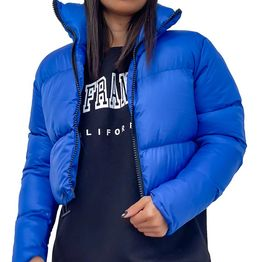 Bomber jacket κοντό (Μπλε)